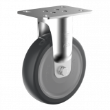 Wicke EP BAR 02/100/32K-FA WICKE EP fixvillás készülékgörgő, porvédős, Ø100 mm