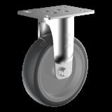 Wicke EP BAR 02/100/32G WICKE EP fixvillás készülékgörgő, Ø100 mm