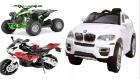HECHT akkumulátoros autók, motorok