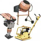 Építőipari gépek, munkaeszközök kölcsönzése
