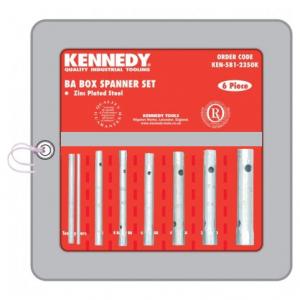 KENNEDY Csőkulcs készlet 0-10 BA hajtószárakkal, 6 részes termék fő termékképe