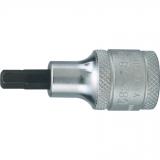 """6 mm x 55 mm hatszögű feltűzhető csavarbehajtó 1/2"""" -os meghajtóval"""