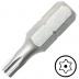 """TX8 furatos Torx csavarbehajtó bit 1/4"""" hatszög illesztéssel, 25 mm (10 db)"""