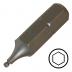 """KENNEDY 4.0 mm gömbvégű hatszög csavarbehajtó bit 1/4"""" hatszög illesztéssel, 25 mm, 5db/csomag"""