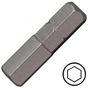 """1/8"""" hatszög csavarhúzó bit 1/4"""" hatszög illesztéssel, 25 mm (10 db) termék fő termékképe"""