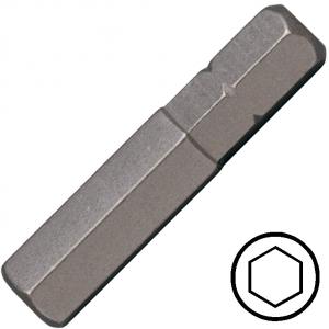 12 mm hatszög csavarbehajtó bit 10 mm hatszög illesztéssel, 75 mm, 5db/csomag termék fő termékképe