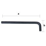 10.0 mm hosszú szárú hatszögkulcs