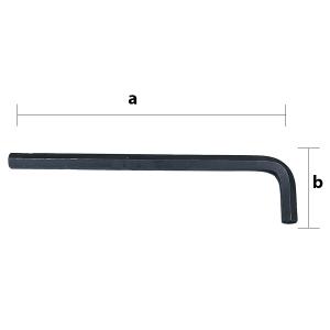 10.0 mm hosszú szárú hatszögkulcs termék fő termékképe