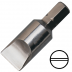 """12 mm hornyos csavarhúzó bit 5/16"""" hatszög illesztéssel, 41 mm (10 db)"""