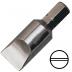 """6 mm hornyos csavarhúzó bit 5/16"""" hatszög illesztéssel, 41 mm (10 db)"""