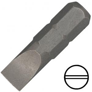 """KENNEDY 6.5 mm hornyos csavarhúzó bit 1/4"""" hatszög illesztéssel, 25 mm, 10db/csomag termék fő termékképe"""
