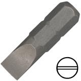 """6 mm hornyos csavarhúzó bit 1/4"""" hatszög illesztéssel, 25 mm (10 db)"""