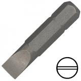 """KENNEDY 3 mm hornyos csavarhúzó bit 1/4"""" hatszög illesztéssel, 38 mm, 10db/csomag"""
