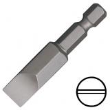 """KENNEDY 6.0 mm hornyos csavarhúzó bit 1/4"""" közvetlen meghajtóval, 38 mm, 10db/csomag"""