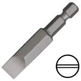 """KENNEDY 6.0 mm hornyos csavarhúzó bit 1/4"""" közvetlen meghajtóval, 50 mm, 5db/csomag"""