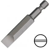"""KENNEDY 6.0 mm hornyos csavarhúzó bit 1/4"""" közvetlen meghajtóval, 70 mm, 5db/csomag"""
