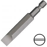 """KENNEDY 4.0 mm hornyos csavarhúzó bit 1/4"""" közvetlen meghajtóval, 90 mm, 5db/csomag"""