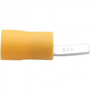 10.0 mm sárga késes kábelsaru (100 db) termék fő termékképe