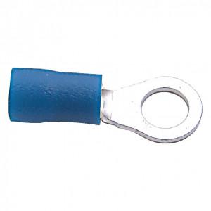 3.70 mm kék gyűrűs kábelsaru (100 db) termék fő termékképe