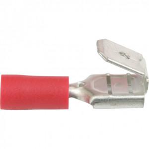 6.3 mm piros anya csatlakozó (100 db) termék fő termékképe