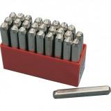 KENNEDY 2.5 mm betű beütő készlet, 27 részes