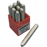 KENNEDY 3.0 mm szám beütő készlet törékeny anyagokhoz, 9 részes