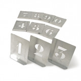 KENNEDY 100 mm acél stencil szám készlet, 10 részes