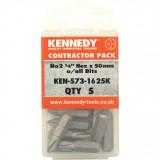 """KENNEDY No.2 kereszthornyos csavarhúzó bit 1/4"""" hatszög illesztéssel, 50 mm, 5db/csomag"""