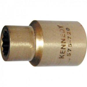 """12 mm szikramentes dugókulcs 1/2"""" -os meghajtóval, Al-Br termék fő termékképe"""