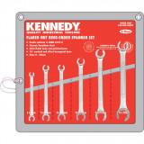 KENNEDY 6 - 22 mm ipari fékcsőkulcs készlet, 6részes
