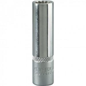 """12 mm hosszú dugókulcs 1/4"""" -os meghajtóval termék fő termékképe"""