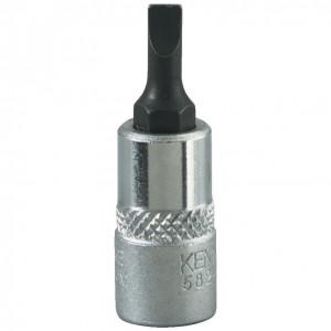 """4 mm lapos feltűzhető csavarbehajtó 1/4"""" -os meghajtóval termék fő termékképe"""