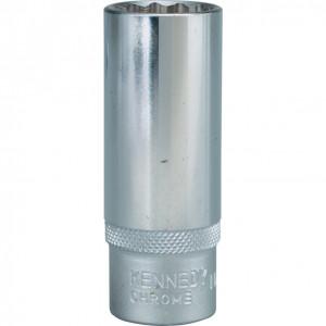 """16 mm hosszú dugókulcs 3/8"""" -os meghajtóval termék fő termékképe"""