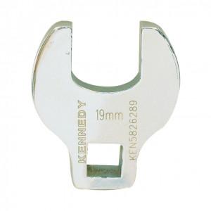 """19 mm villás feltűző kulcs 3/8"""" -os csatlakozóval termék fő termékképe"""