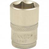 """KENNEDY 12 mm hatszögű hosszú dugókulcs 1/4"""" -os meghajtóval"""