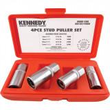 KENNEDY Tőcsavar kihajtó készlet 6-12 mm, 4részes