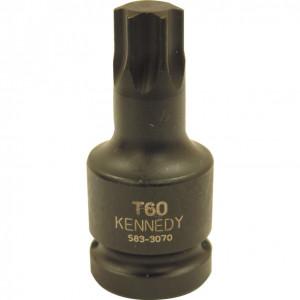 """T40 Torx feltűzhető erősített csavarbehajtó 1/2"""" -os meghajtóval termék fő termékképe"""