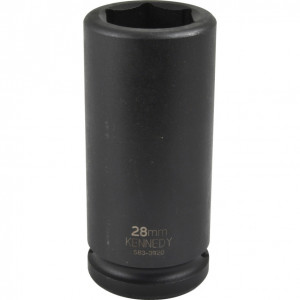 """28 mm hosszú erősített dugókulcs 3/4"""" -os meghajtóval termék fő termékképe"""