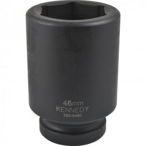 """KENNEDY 65 mm hosszú erősített dugókulcs 1"""" -os meghajtóval termék fő termékképe"""