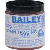 KENNEDY Szennyvíz színjelölő festék, piros 200 g