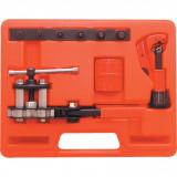 KENNEDY Kompakt csőperemező szerszám készlet csővágóval/csősorjázóval