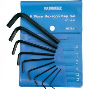 1.5 - 10 mm hatszögkulcs készlet műanyag tasakban (9 db) termék fő termékképe