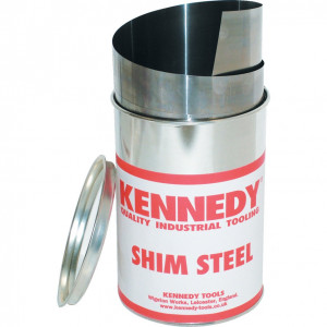 """0.015"""" x 6"""" precíziós acél hézagoló lemez termék fő termékképe"""