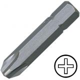 """KENNEDY No.2 kereszthornyos csavarhúzó bit 5/16"""" hatszög illesztéssel, 32 mm, 10db/csomag"""
