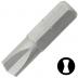 """KENNEDY 1/4"""" kulcslyuk alakú csavarbehajtó bit 1/4"""" hatszög illesztéssel, 25 mm, 5db/csomag"""