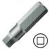 """No.0 négyszög csavarbehajtó bit 1/4"""" hatszög illesztéssel, 25 mm, 10db/csomag"""