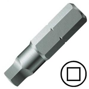 """KENNEDY No.4 négyszög csavarbehajtó bit 1/4"""" hatszög illesztéssel, 25 mm, 10db/csomag termék fő termékképe"""