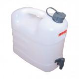 KENNEDY Műanyag víztároló kanna csappal, 15 l