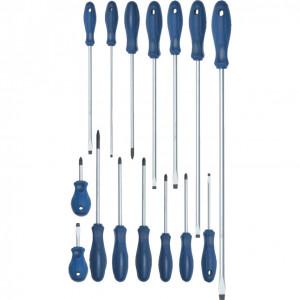 Csavarhúzó készlet kétkomponensű markolattal (15 db) termék fő termékképe
