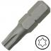 TX55 Torx csavarbehajtó bit 10 mm hatszög illesztéssel, 30 mm (5 db)
